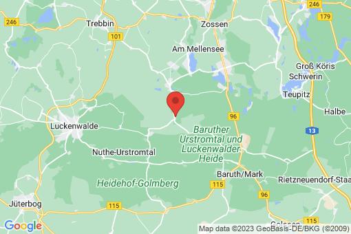 Karte Kummersdorf-Gut