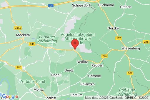 Karte Schweinitz