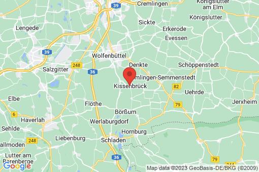 Karte Kissenbrück