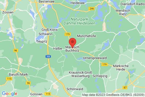 Karte Märkisch Buchholz