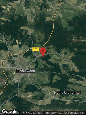 Google Map of Nuthe-Urstromtal