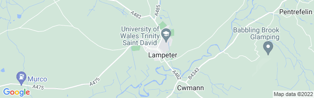 Map Of Lampeter