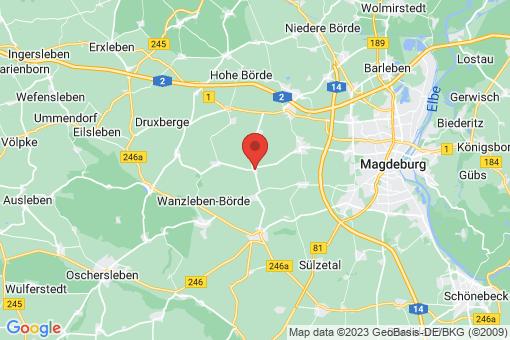Karte Klein Rodensleben