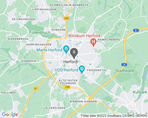 Google Karte von Schlüsseldienst Herford