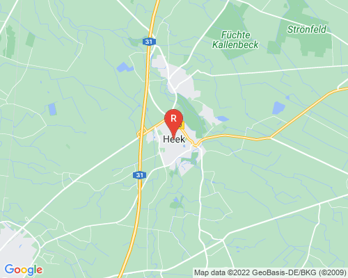 Google Karte von Rohrreinigung Heek