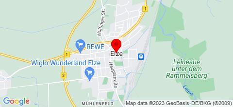 Google Map für Monteurzimmer-Vermietung Wolter
