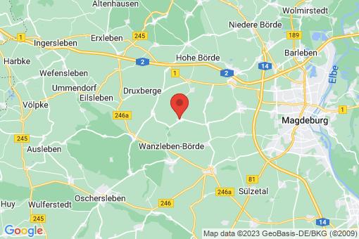 Karte Groß Rodensleben