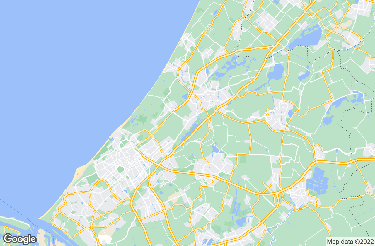 Google Map of Voorschoten