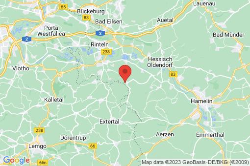 Karte Rinteln Friedrichswald