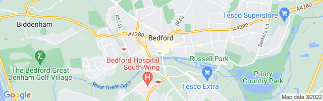 Map Of Bedford