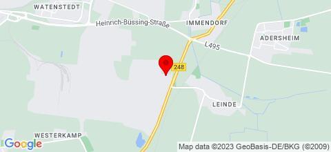 Google Map für Gewerbehof Salzgitter