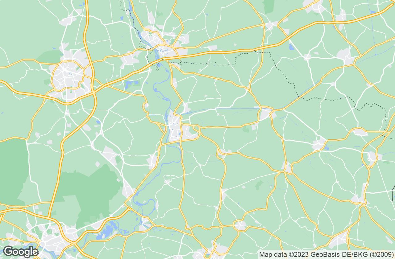 Google Map of وارنسفيلد
