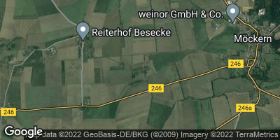 Google Map of Zeddenick