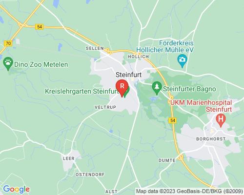 Google Karte von Rohrreinigung Steinfurt