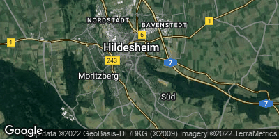 Google Map of Hildesheim