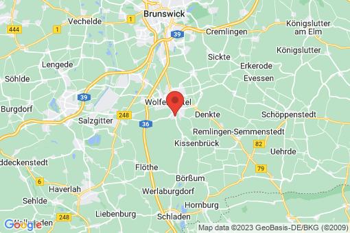 Karte Wolfenbüttel