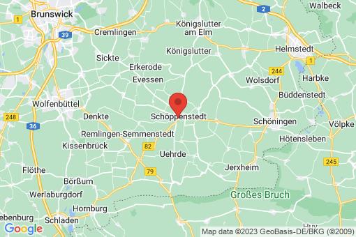 Karte Schöppenstedt