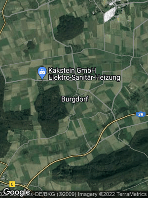 Google Map of Burgdorf bei Salzgitter
