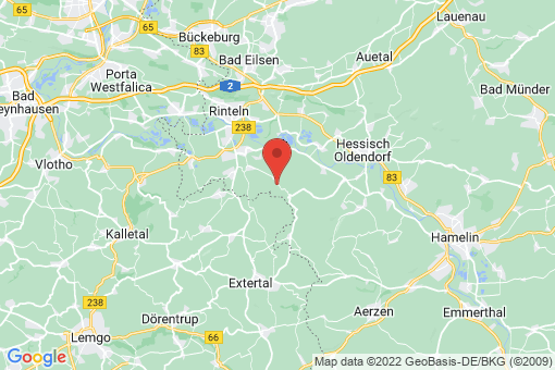 Karte Rinteln Wennenkamp