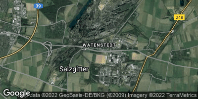 Google Map of Watenstedt