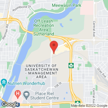 Map of Bed Bath & Beyond at 1709 Preston Avenue North, Saskatoon, SK S7N 4V2