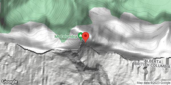 Mount Columbia - Wet Slab