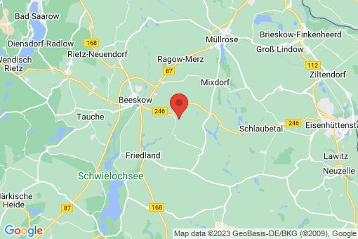 Karte Beeskow Krügersdorf