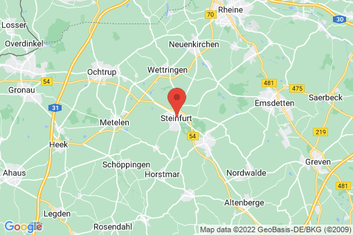 Karte Steinfurt