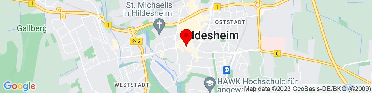 Google Map of 52.15077, 9.95112