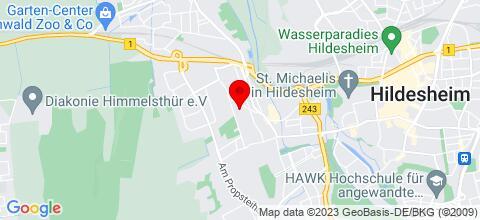 Google Map für Monteurwohnung in Top Lage für bis zu 7 Personen!