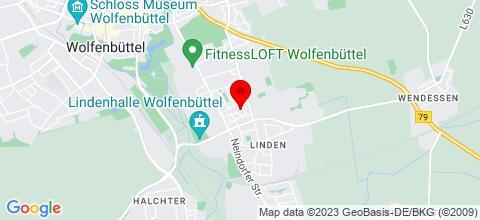 Google Map für WF Linden