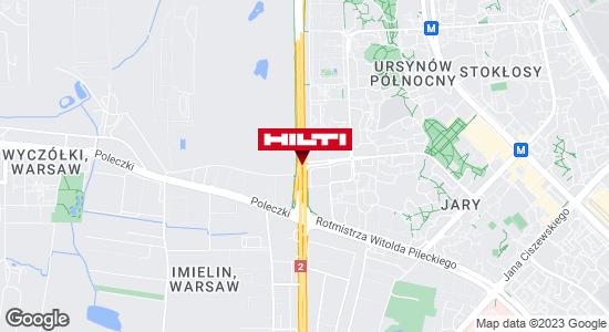 Wyświetl instrukcję Hilti Store (ul. Puławska - sklep) Warszawa
