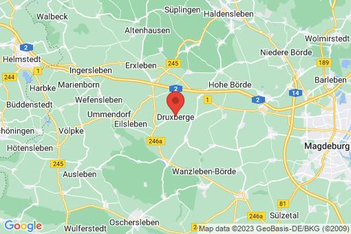 Karte Druxberge