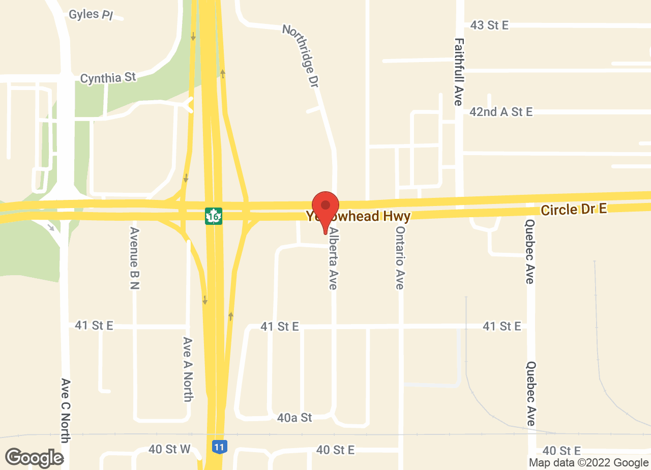Google Map of Frontier Animal Hospital