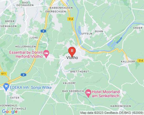 Google Karte von Rohrreinigung Vlotho