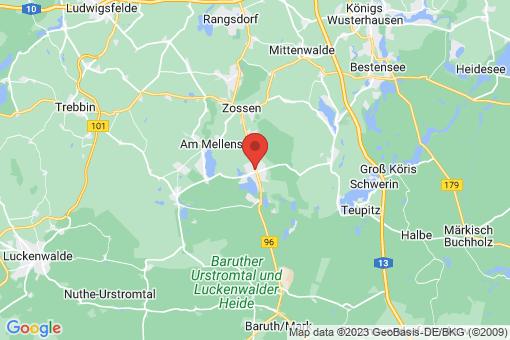 Karte Wünsdorf