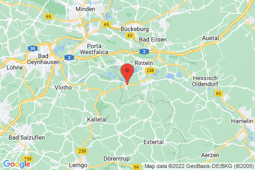 Karte Rinteln Möllenbeck