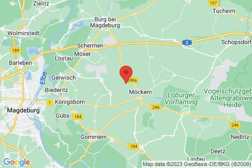 Karte Tryppehna