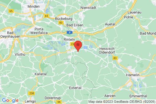 Karte Rinteln Strücken