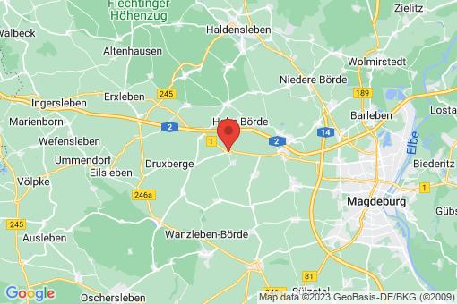 Karte Eichenbarleben
