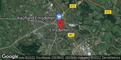 Google Map of Emsdetten
