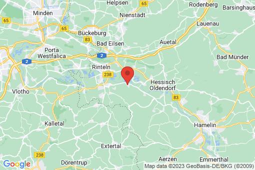 Karte Rinteln Hohenrode