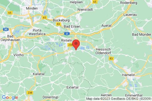 Karte Rinteln