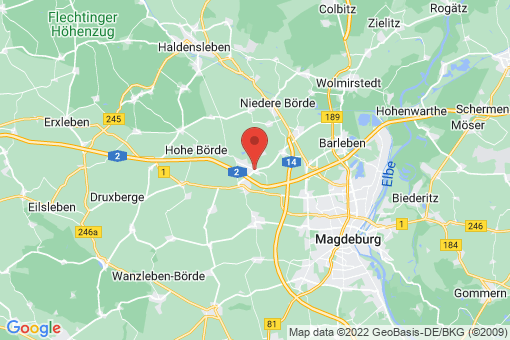 Karte Hohenwarsleben
