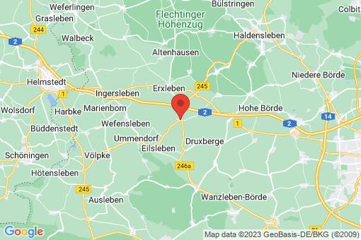 Karte Hakenstedt