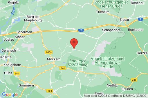 Karte Hohenziatz