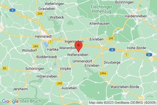 Karte Wefensleben