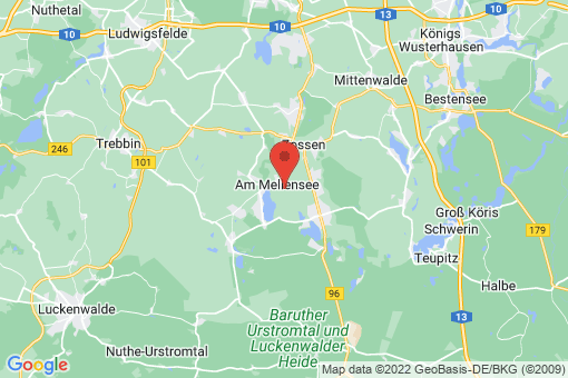 Karte Mellensee