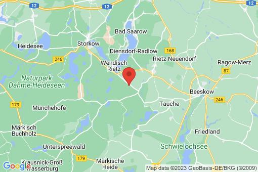 Karte Rietz-Neuendorf Behrensdorf
