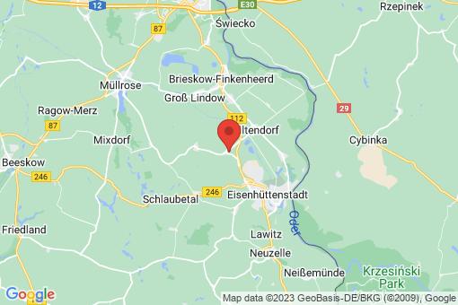 Karte Siehdichum Pohlitz